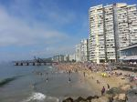 Viña del Mar, New Year's day.